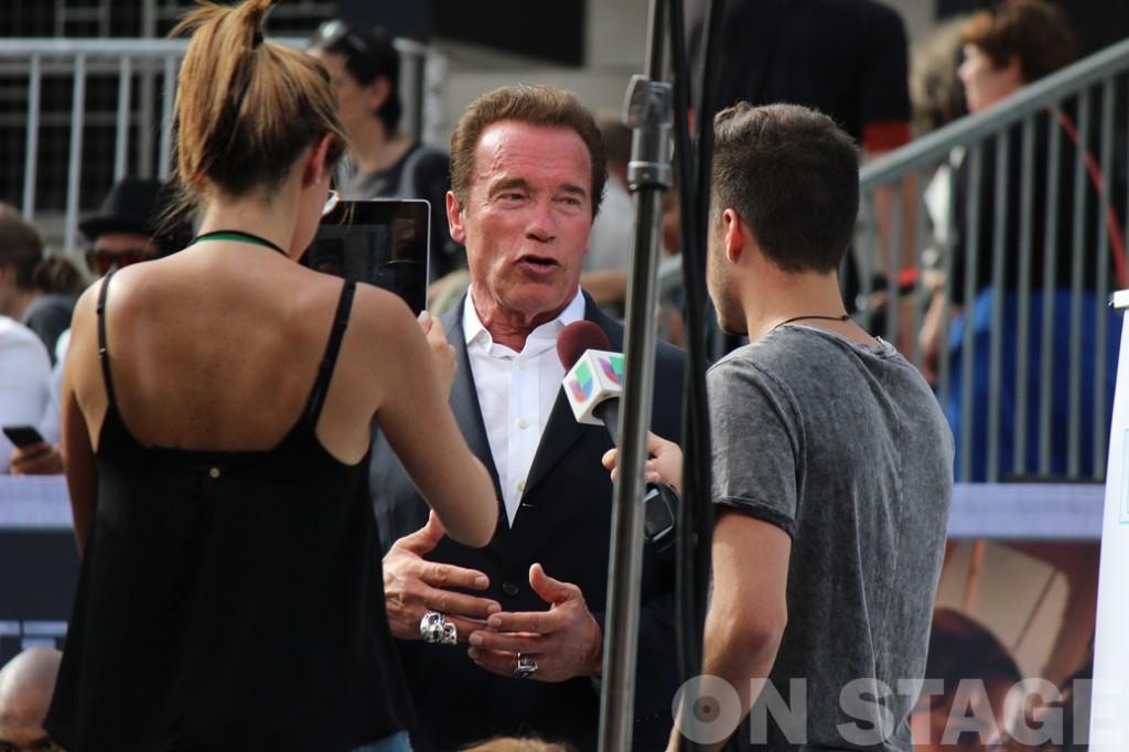 Arnold Schwarzenegger - Terminátor 5 Premier (Dolby) - fotó: Pogonyi Nóra