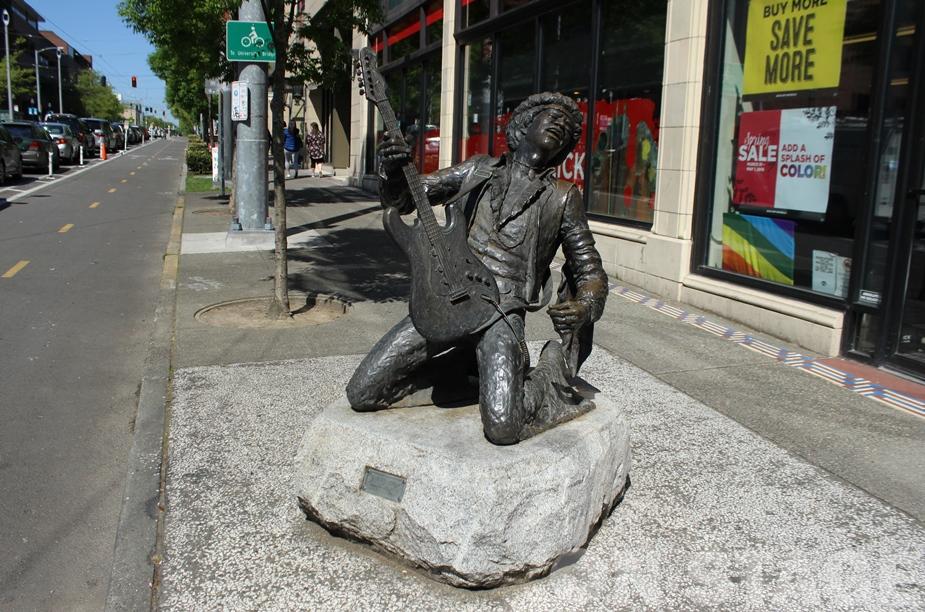 Fotó: Pogonyi Nóra - Jimi Hendrix Statue