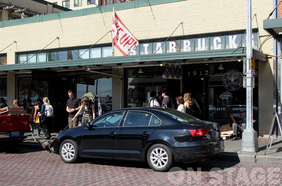 Fotó: Pogonyi Nóra - Starbucks / Pike Place Market