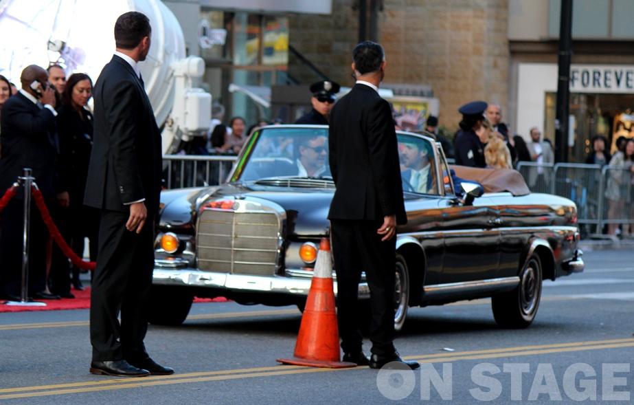 Fotó: Pogonyi Nóra - Russell Crowe és Ryan Gosling érkezése a The Nice Guys világpremierjére