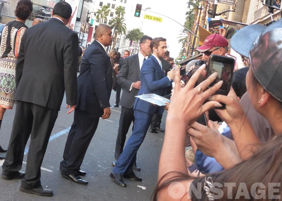 Fotó: Pogonyi Nóra - Ryan Gosling autogramosztás