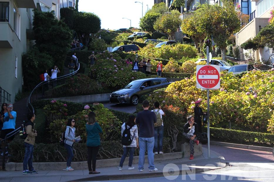 Lombard Street / San Francisco - Fotó: Pogonyi Nóra