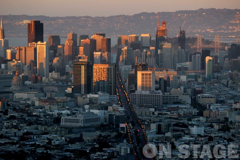 Twin Peaks / San Francisco - Fotó: Pogonyi Nóra