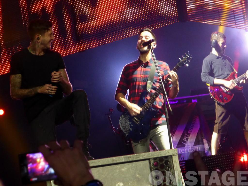 Austin Carlile a Linkin Park zenekarral / Amsterdam, Ziggo Dome 2014.11.07. / Fotó: Pogonyi Nóra