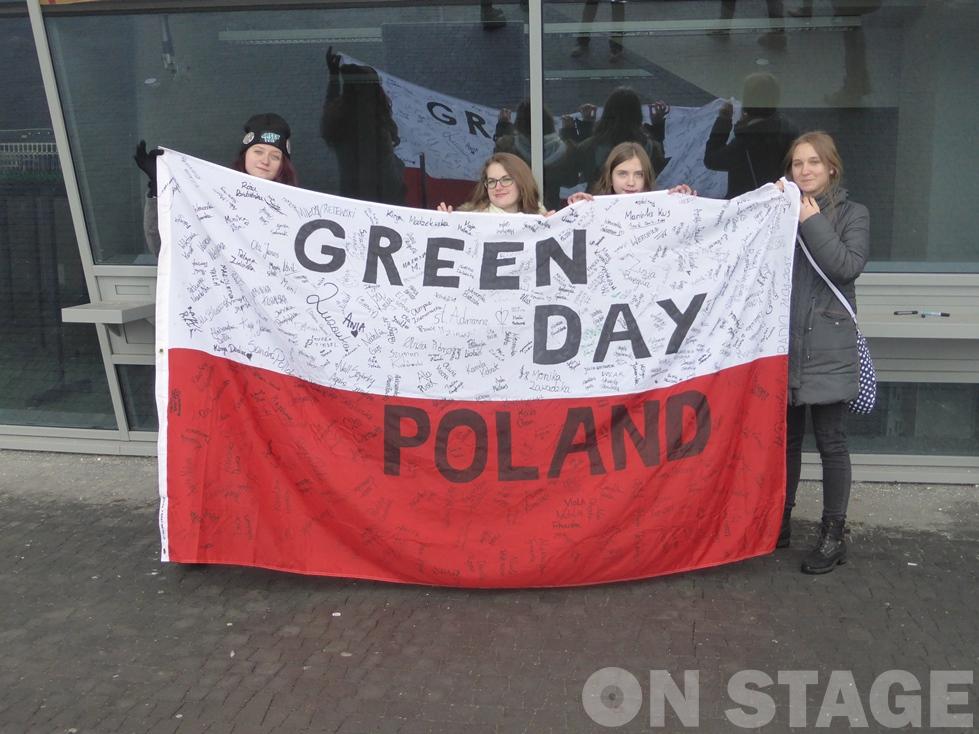 Lengyel Green Day rajongók / Fotó: Pogonyi Nóra