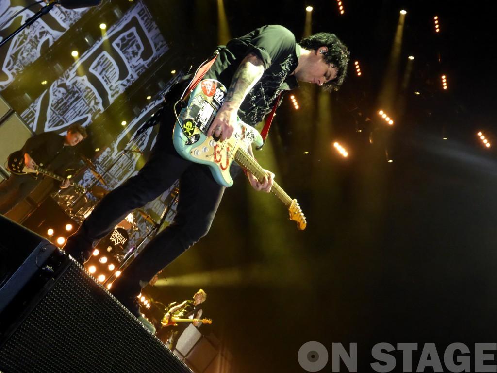 Billie Joe Armstrong / Fotó: Pogonyi Nóra
