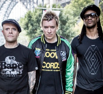 Shots of the Prodigy on tour, Sydney Australia, March 2015