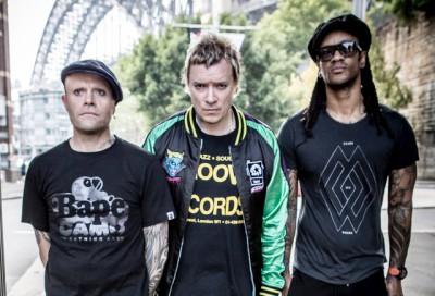 Shots of the Prodigy on tour, Sydney Australia, March 2015