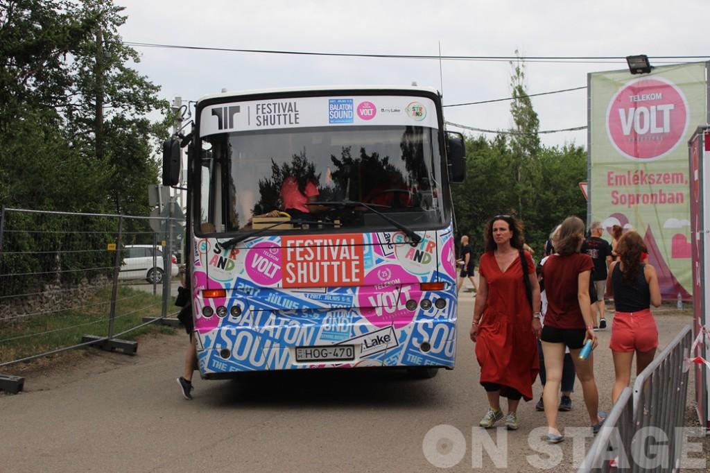Fesztiválbusz / Fotó: Pogonyi Nóra