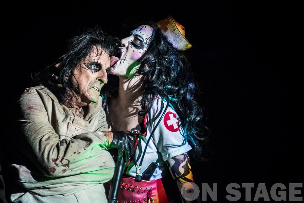 Alice Cooper és Sharon / Fotó: Pandur-Balogh Norbert - Northern Lights Photography
