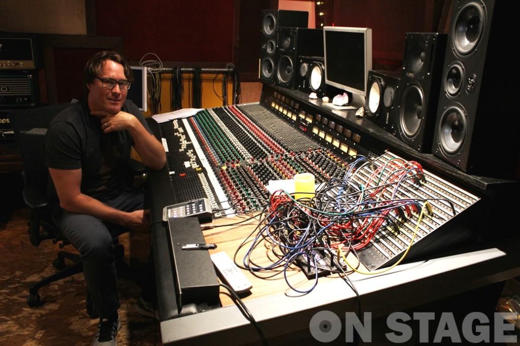 Cameron Webb / Maple Sound Studios - Fotó: Pogonyi Nóra
