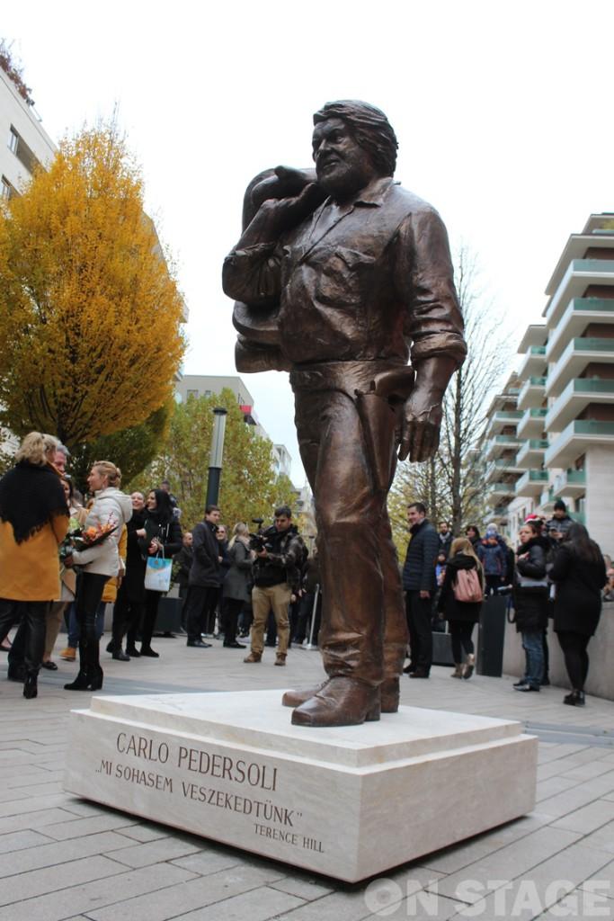 Bud Spencer szobor / Fotó: Pogonyi Nóra