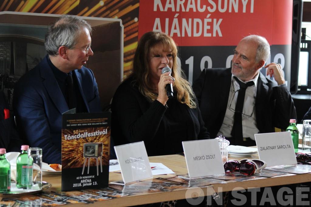 Meskó Zsolt, Zalatnay Sarolta, Wolf Péter / Fotó: Pogonyi Nóra