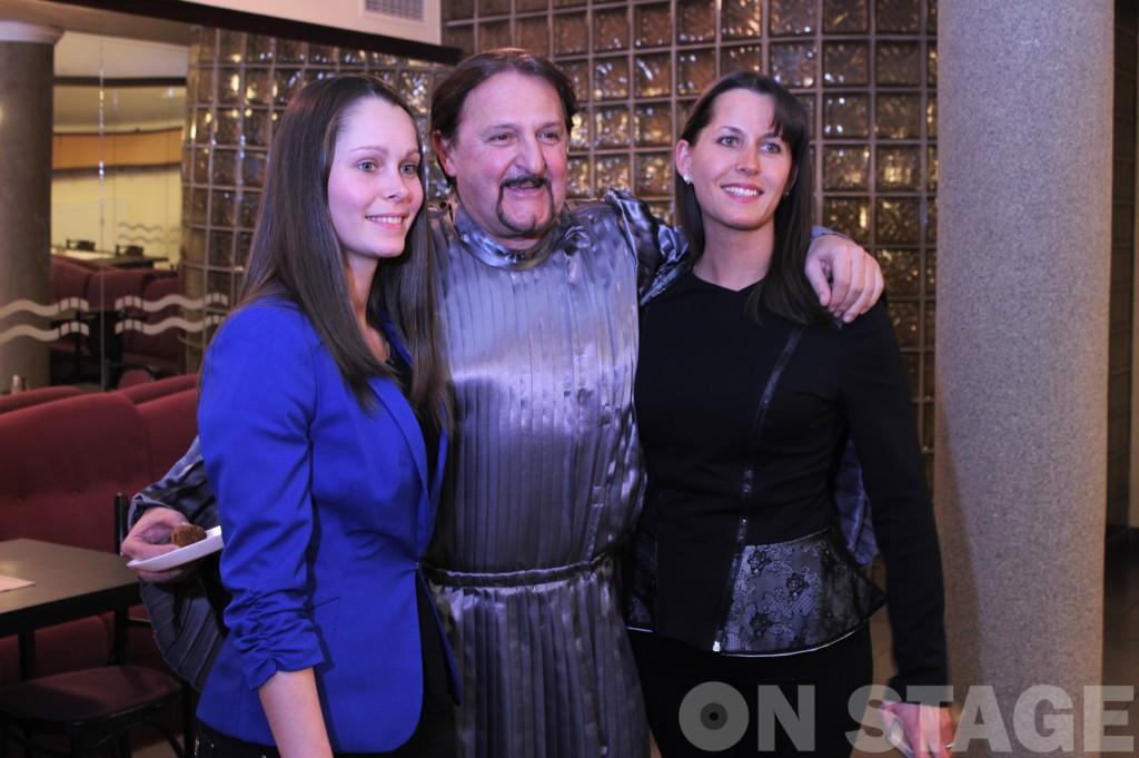 Szerednyey Béla családjával / Fotó: Pogonyi Nóra
