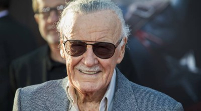 "Stan Lee attends the premiere of Marvel's ""Avengers: Age Of Ultron"" at the Dolby Theatre on April 13, 2015 in Hollywood, California.  AFP PHOTO / ROBYN BECK        (Photo credit should read ROBYN BECK/AFP/Getty Images)"