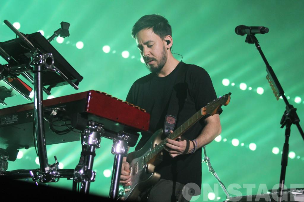 Mike Shinoda / Fotó: Pogonyi Nóra