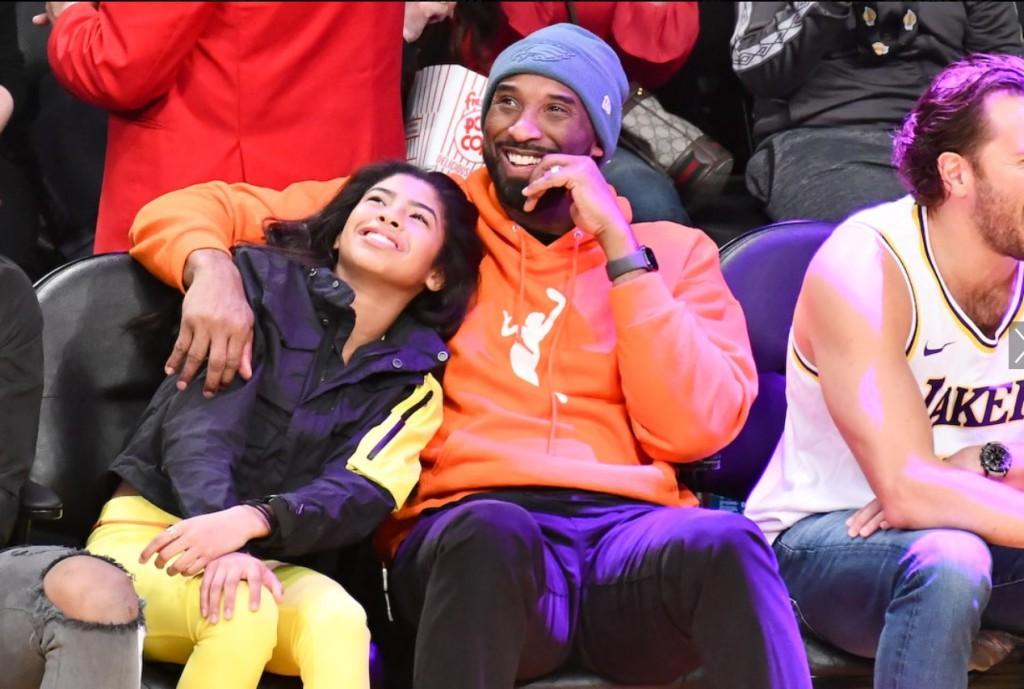 Kobe Bryant és lánya, Gianna