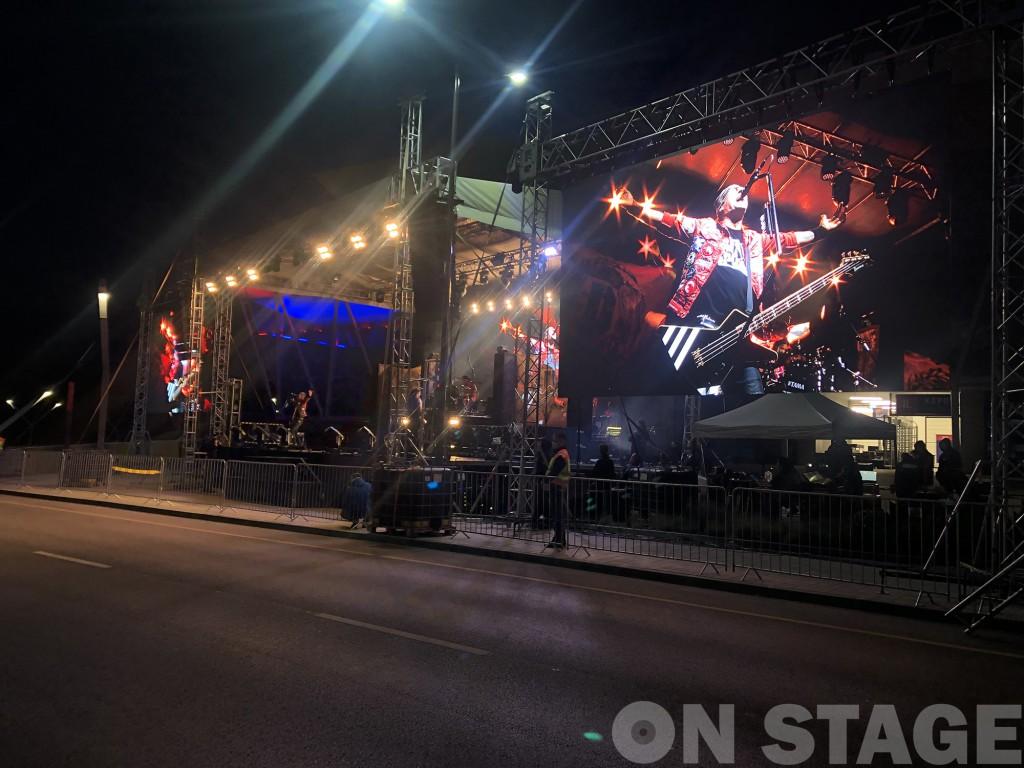 Tankcsapda, autós koncert, Székesfehérvár / Fotó: Pogonyi Nóra