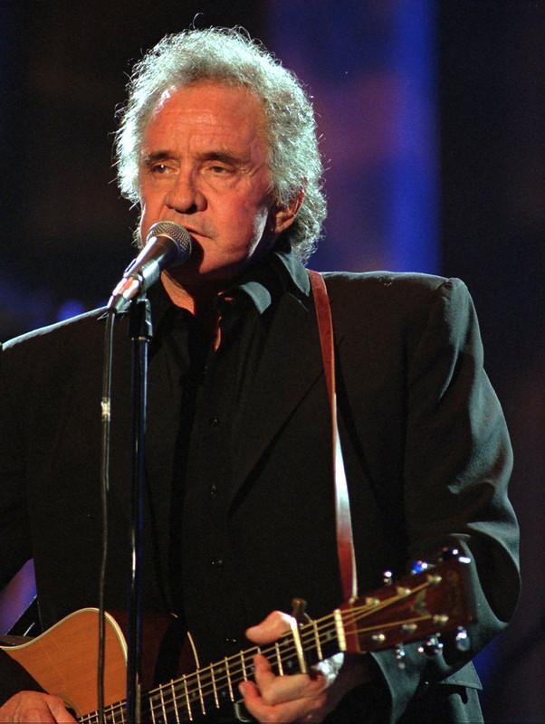 Johnny Cash idős korában