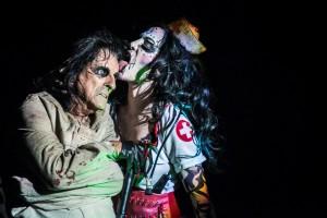 Alice Cooper és Sharon / / Fotó: Pandur-Balogh Norbert - Northern Lights Photography