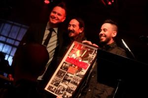 Mark Hoppus, Steve Aoki, Mike Shinoda