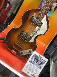 Guitar signed by The Beatles