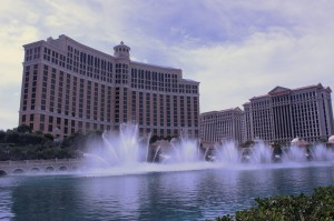 Dancing Fountains of The Bellagio