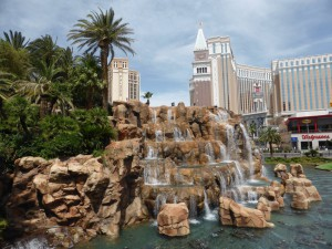 Fountains of The Mirage - Las Vegas Strip